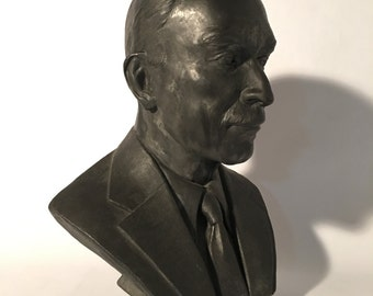 Custom Portrait Bust Sculpture, Sculpture Commission, Sculpted Likeness,