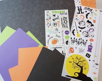 Creative Memories Additions Kit 12x12 Cheerful Halloween