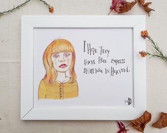 Robyn - Jessica Jones Print