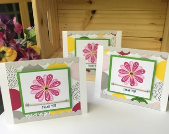 Set of 3 Thank You cards