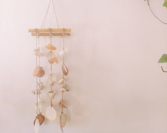 Vintage seashell hanging chandelier