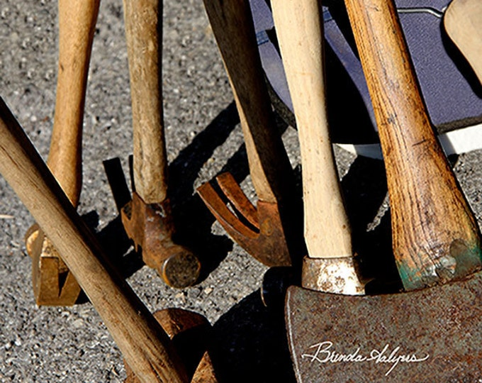 Kentucky Tools With These  Brenda Salyers, Fine Art Print on Paper or Canvas