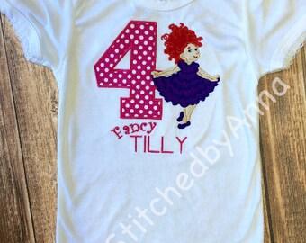 Fancy Nancy Birthday Shirt*****Please Read Shop Announcement*****