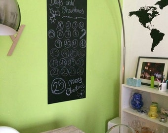 Handmade long blackboard perfect for your home or office, bar or resturant