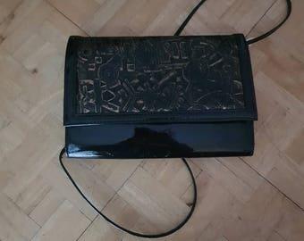 Bag Clutch Black Lacquer