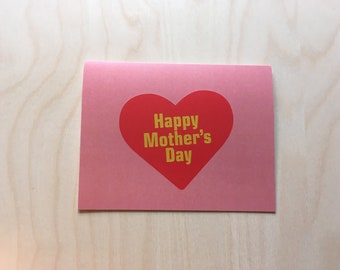 Mother's Day Card, Card for Mom, Card for Mother, Happy Mother's Day Card, Card for Mom, Mother's Day Gift