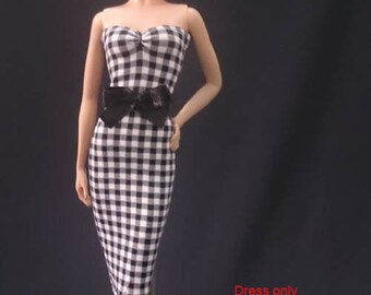 Dolls dress for Barbie,Tall barbie, FR,Silkstone,Vintage barbie- No.180413-15