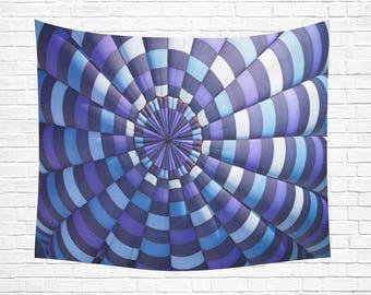 "Hot Air Balloon Wall Tapestry 60""x 51"""