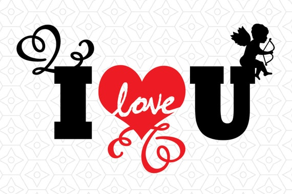I love u valentines decal svg dxf and ai vector files for use with i love u valentines decal svg dxf and ai vector files for use with cricut or silhouette vinyl cutting machines from designsbytristan on etsy studio thecheapjerseys Image collections