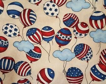 Patriotic Balloons by Robert Kaufman Fabrics