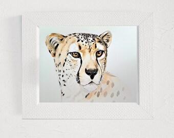 Guepard print Home interior pictures Wall print artwork Office decor Digital printable Modern art print Animal printable wall art Cheetah