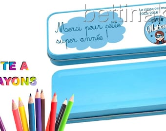 SPECIAL custom teacher pencil box