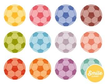 Soccer Ball Clipart Illustration for Commercial Use | 0474