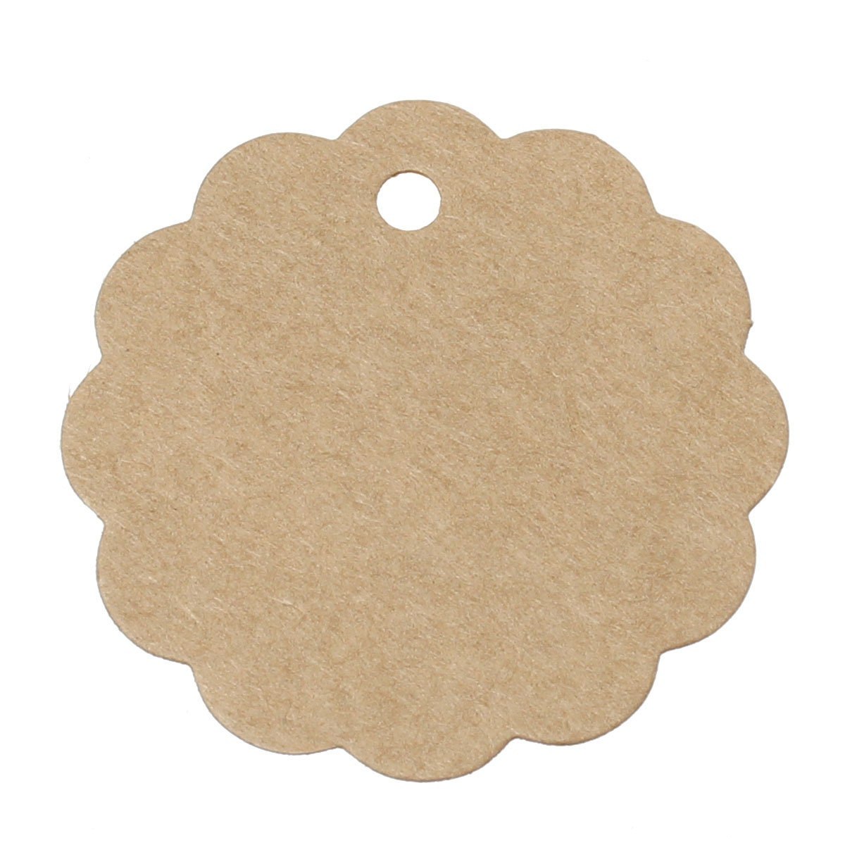 10pcs brown round paper label price tags 59x59mm packaging sold by thevioletroom jeuxipadfo Choice Image