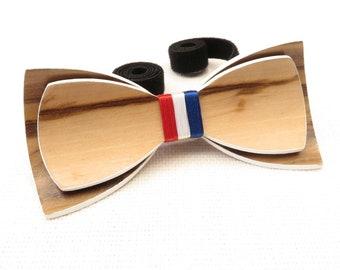 Beautiful Wood Bow Tie 0016