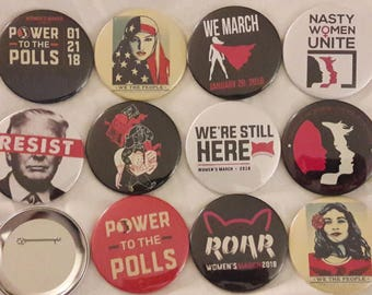 Women's March 2018 Buttons