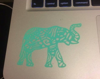 Elephant Decal Aztec Pattern Decal