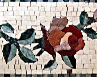 Mosaic Art - Tulips Swirl Pattern
