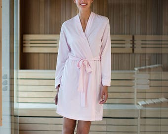 Cotton Jersey Dressing Gown