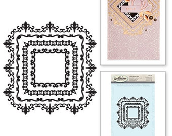 Spellbinders Square Magnificence Stamps SBS-093