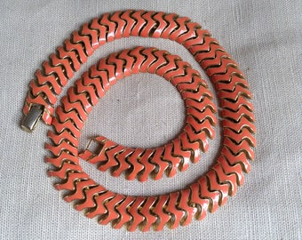 1940's articulated necklace.