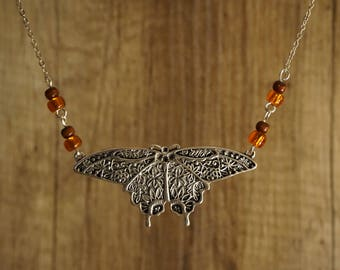 "Necklace ""Flying Butterfly"""