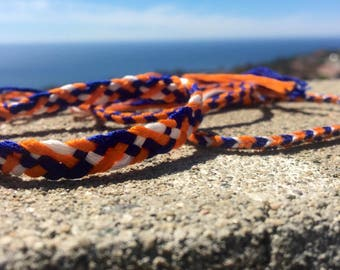 A Dozen School Team Club Woven Frienship Bracelets