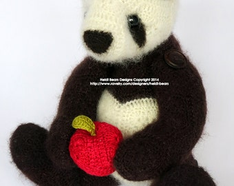 Ling-Ling the Panda African Flower Crochet Pattern