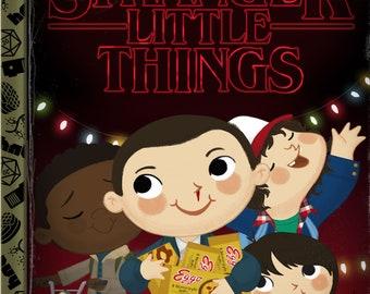 Stranger Little Things 5x7 POSTCARD