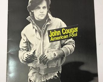 1982 | John Cougar | American Fool Tour Book