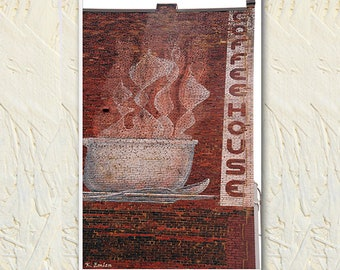Photograph, Painted Brick, Coffee House Photo, Up Close Architecture, Building Photo, Knoxville Tennessee, Urban Art, Street Photography