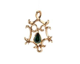 Baroque Pendant Gilded Grande