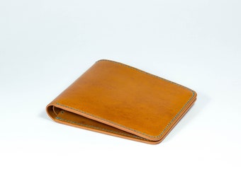 Mens Leather wallet, leather wallet, Bifold leather wallet
