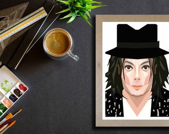 Michael Jackson with Hat