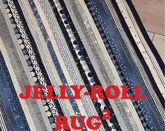 Jelly Roll Rug 2 - Pattern by RJ Designs (RJD 120)