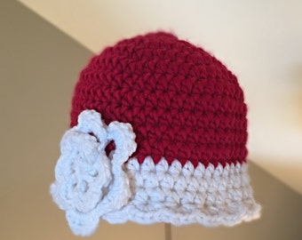 RTS in a size 5- preteen  hat beanie  Hat Crocheted