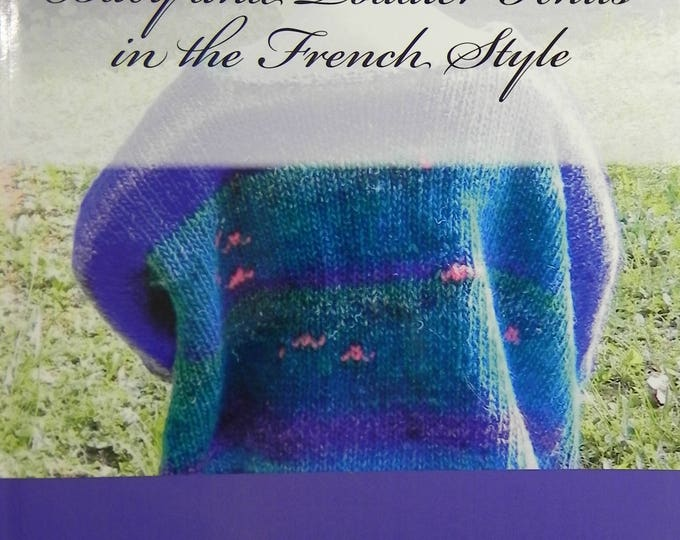 Featured listing image: Baby and Toddler Knits in the French Style (book, softcover) by Lucinda Segneri