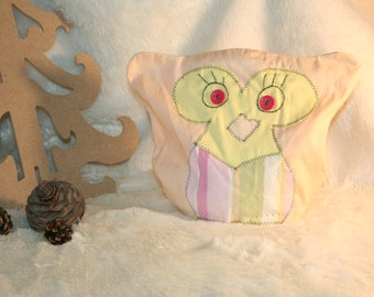 """heating pad """"OWL"""" orange & yellow grain of rice and lavender flowers in the Luberon"""