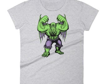Hulking Cthulhu Short-Sleeve Women's T-Shirt