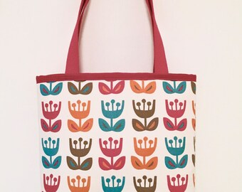 City Tote Bag  - Tulips