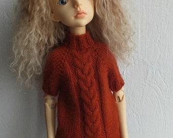 SALE! Handmade knitted wool shirt for MSD BJD