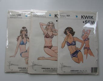 Kwik Sew Bra and Panty Sets