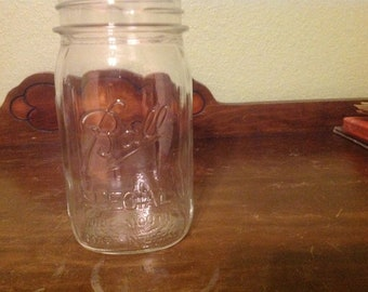 Ball special quart wide mouth jar