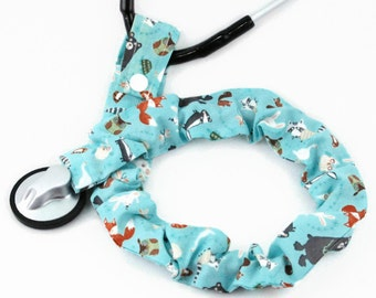 Stethoscope Cover, Medical Student, Nurse, Doctor, Medical Instruments, Stethoscope Accessories, Woodland Animals, Bears, Foxes, Owls, Gift