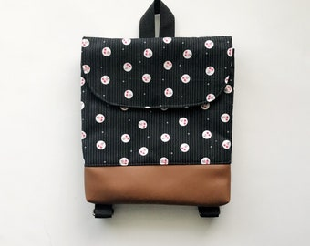Cherry Dot Tiny Pack - Small Backpack - Toddler Backpack - Tiny Backpack - Toddler Bag - Backpack