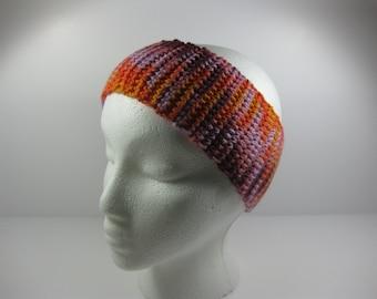 Crochet Cotton Ear Warmer One Size Fits Most