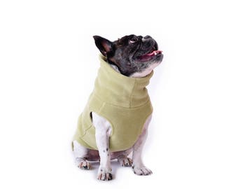 6.  BAMBOO Polartec 200 dog sweater