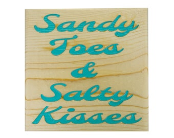 MINI - Sandy Toes Salty Kisses - Free Shipping