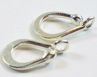 Hook Clasp Karen Hill Tribe Fine Silver Hook Clasp 1 Clasp HT-128
