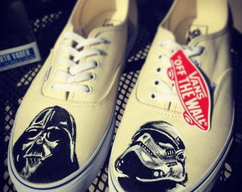 Star Wars Custom Vans Darth Vader & Stromtrooper Shoes